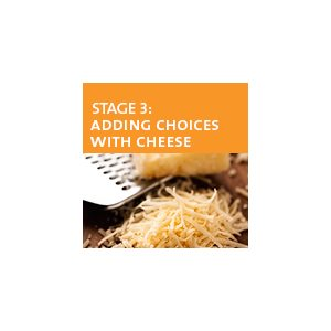 Adding Choices with Cheese - Stage 3