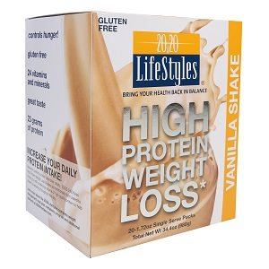 20 / 20 LifeStyles High Protein Powdered Vanilla Shake